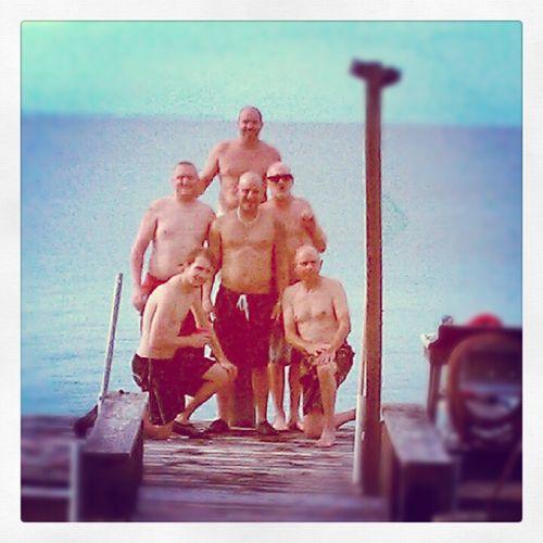 Shirtless Men.