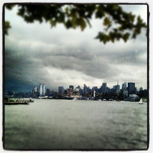 Storm on the New York Skyline